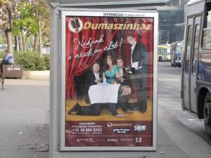 Citylight, köztéri reklám, hirdetés